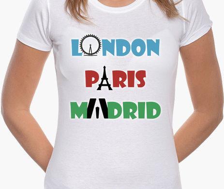 camiseta-mujer-londres-paris-madrid